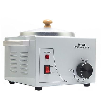 Vogvigo Calentador de parafina depilatoria Olla individual Calentador de agua SPA Máquina de cera para Manos