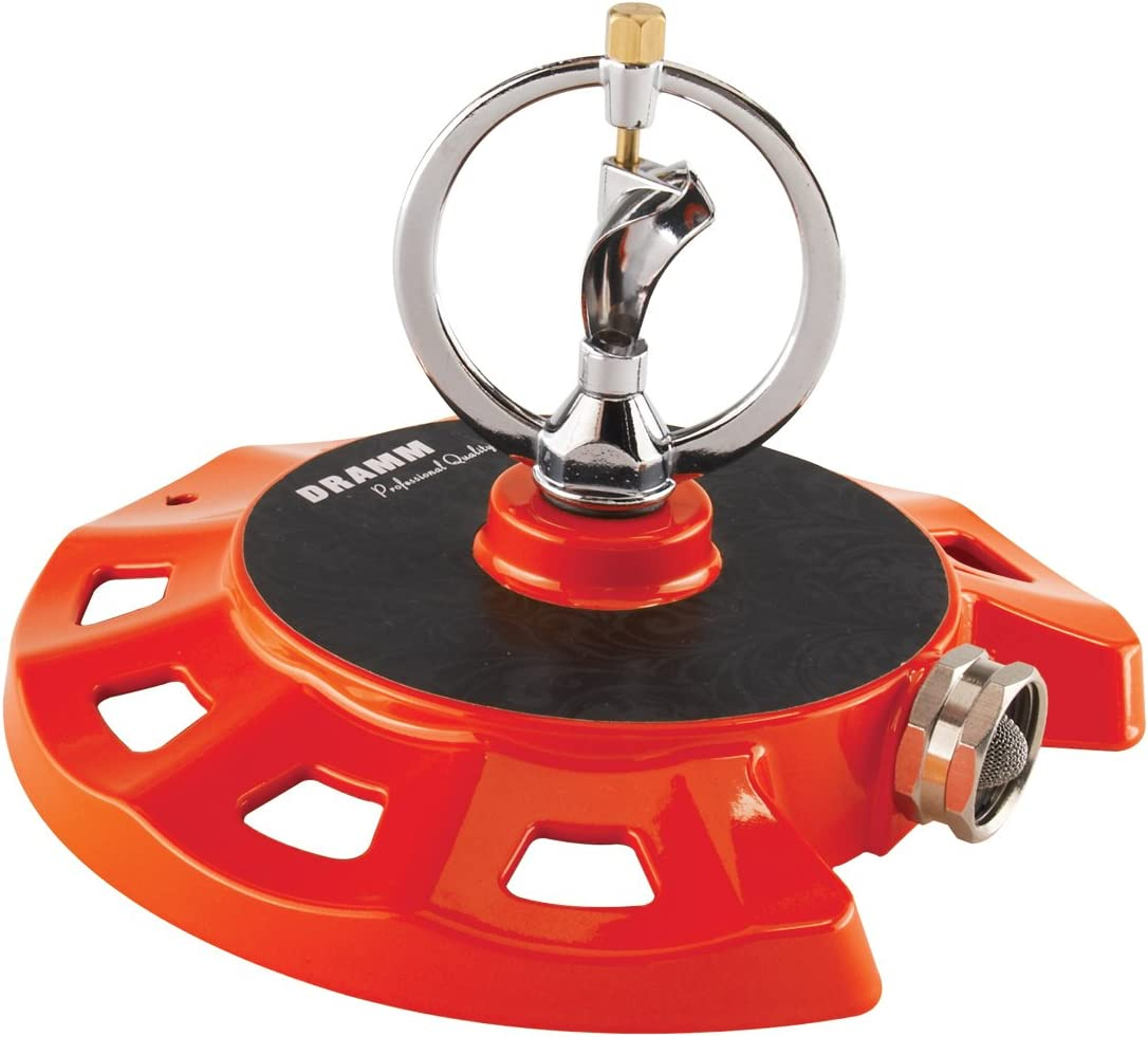 Dramm 15071 ColorStorm Spinning Sprinkler, Red
