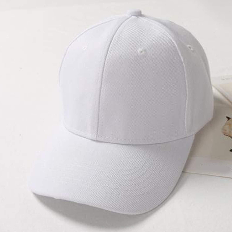 Dal-Msee Baseball Caps Unisex Solid Color Cap Fashion Baseball Hat Cap Hat Hip-Hop Adjustable Size Cap #15