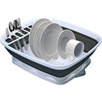 Progressive Collapsible Dish Rack with Drain Board