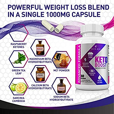 2 Pack  120 Capsules Best Keto Diet Pills with Carb Supplement  Exogenous Ketones  Approved Science