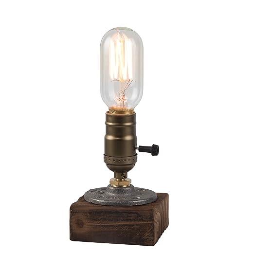 edison table lamp vintage home lighting. Loft Vintage ST64 Edison Bulb Desk Lamp Dimmable Water Pipe Light Home Bar  Decor Lamps Edison Table Lamp Vintage Home Lighting S