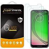 (3 Pack) Supershieldz for Motorola Moto G7 play/Moto G7 Optima/T- Mobile REVVELRY Tempered Glass Screen Protector, 0…