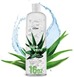 16oz - Aloe Vera Gel For Face - Pure Aloe from 100% Gel - Aloe Vera Gel Face Wash and Body After Sun Care - From Fresh…