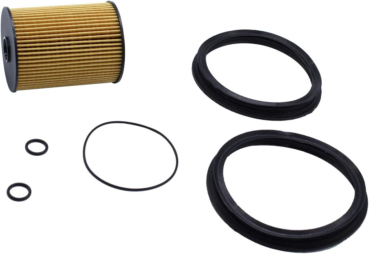 Filtro carburante con O-ring 16146757196 compatibile per Mini Cooper 2002-2008 TAKPART