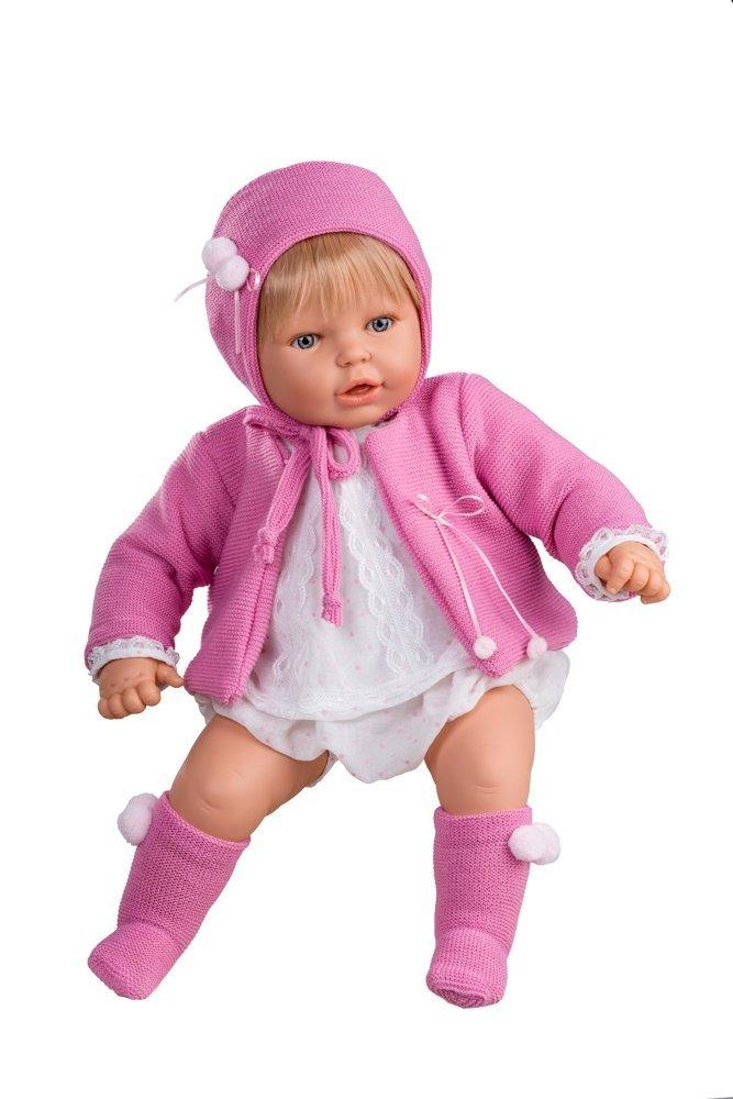 Berjuan 30075 Nene Girl Hood Pink 60 cm, MultiColour