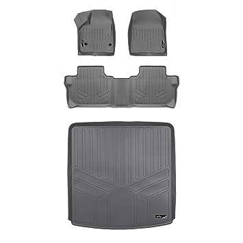 Pleasing Amazon Com Smartliner Custom Floor Mats 2 Rows And Cargo Short Links Chair Design For Home Short Linksinfo