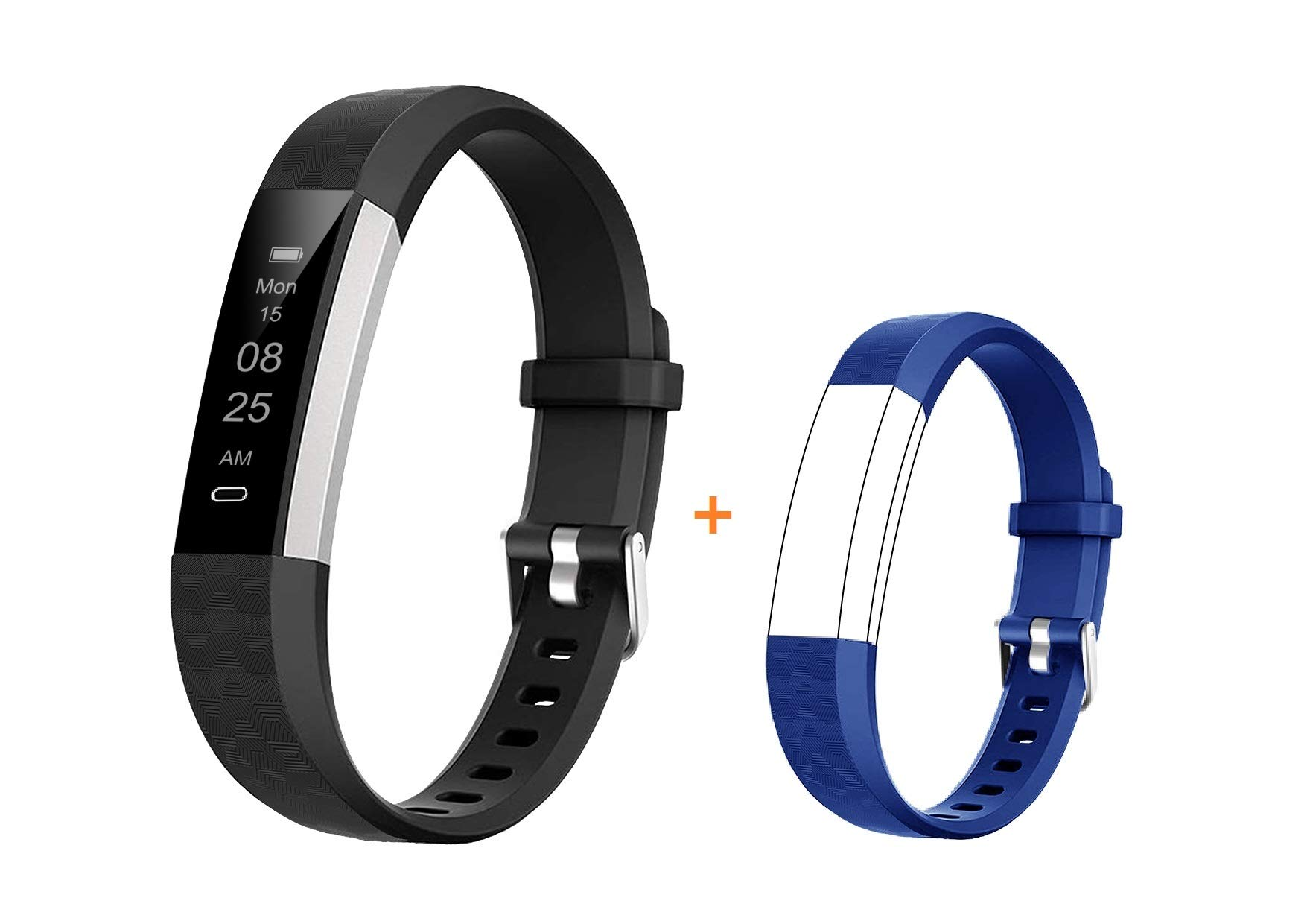 BIGGERFIVE Fitness Tracker Watch for Kids Girls Boys Teens, Activity Tracker, Pedometer, Calorie Counter, Sleep Monitor…