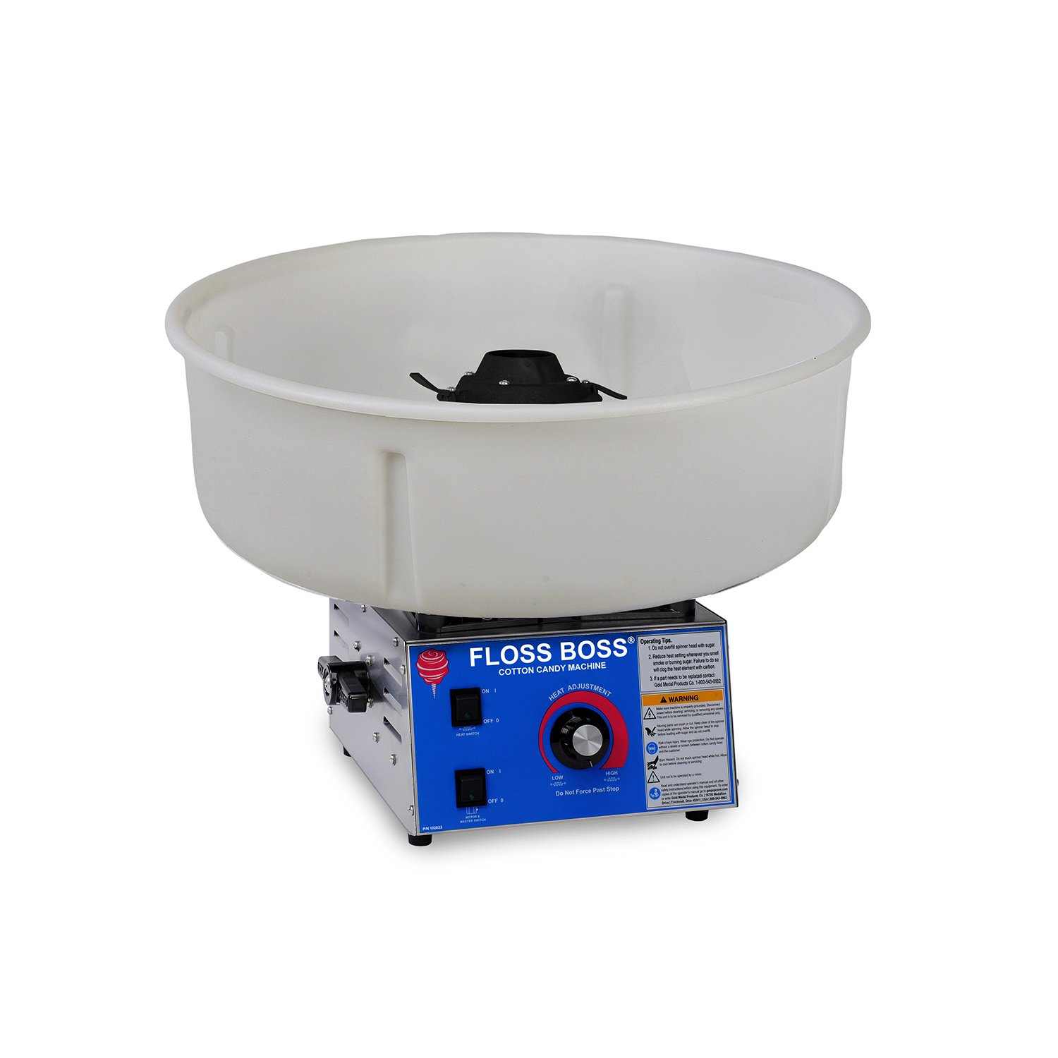 Gold Medal 3024-00-000 Full-Size Floss Boss Cotton Candy Machine