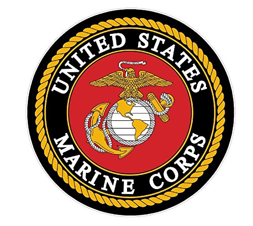 - USMC Seal (M41) Marine Corp Decal Sticker Car/Truck Laptop/Netbook Window