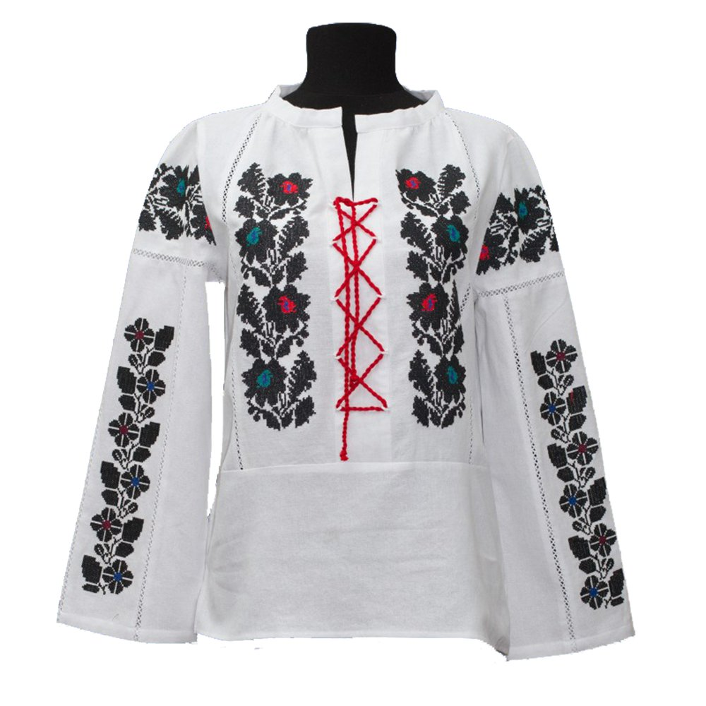 Ukrainian Chemisier Blanc Fashion Femme Xxx Large R543AjLq