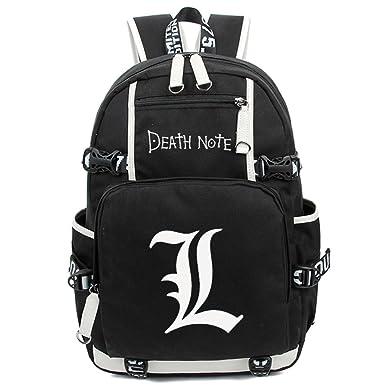 Anime Death Note Mochila con cord/ón para Laptop