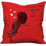 Indibni 12X12 Coffee Love Pillow