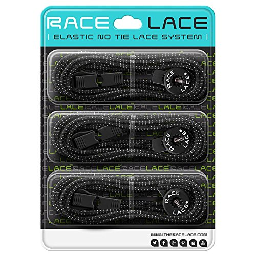 Elastic Shoelaces - No Tie Laces For Running Shoes | Laces For Triathlon To Keep Pace | Lock Shoe Laces For Kids & Seniors | 5 Colours Available (3 x - Buy Tri To Shorts Where