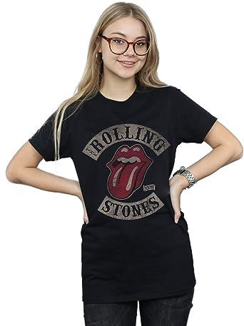 Rolling Stones Mujer Tour 78 Camiseta del Novio Fit: Amazon.es: Ropa y accesorios