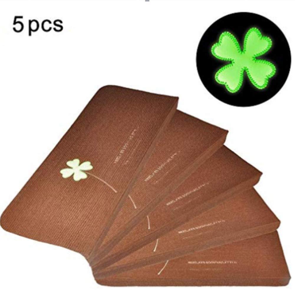 Confezione da 5luminoso tappetini Billigerluxus glue-free autoadesivo in PVC antiscivolo pavimento Staircase tappeti tappetini Protector Pads Fdit