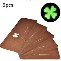 5Pcs Luminous Teppich Treppenstufen Matten Kleber Free Self Adhesive PVC rutschfeste Boden Treppe Teppiche Protector Matten