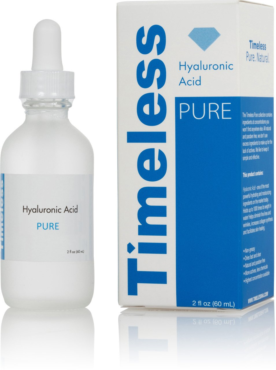 The Original Hyaluronic Acid Serum 100% Pure 2 oz.