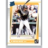 2021 Donruss #43 Ke'Bryan Hayes RC Rookie Card Pittsburgh Pirates Rated Rookies MLB PA Trading Card From Panini in Raw…