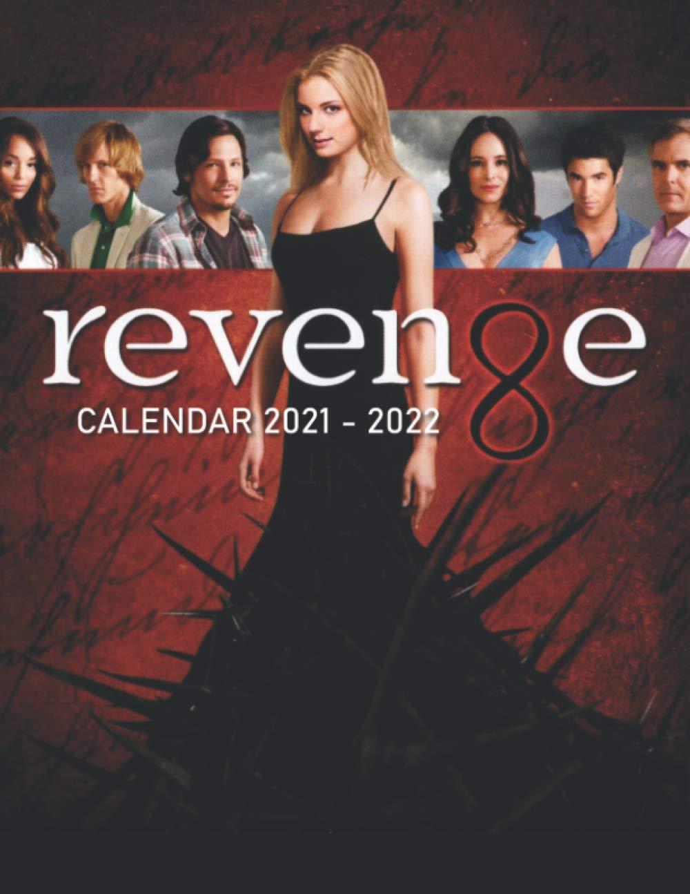 Amazing Calendar 2022.Amazon Com Revenge Calendar 2021 2022 Amazing Calendar For Fans 2 Years Calendar 9798583847099 Calendar Dasan Books