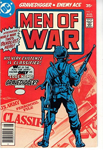 Men of War #1 Comic Book, DC 1977 First Issue NM-
