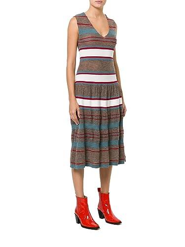 Vivienne Westwood Vestito Donna S26ct0583s16139001f Lana Beige/Grigio