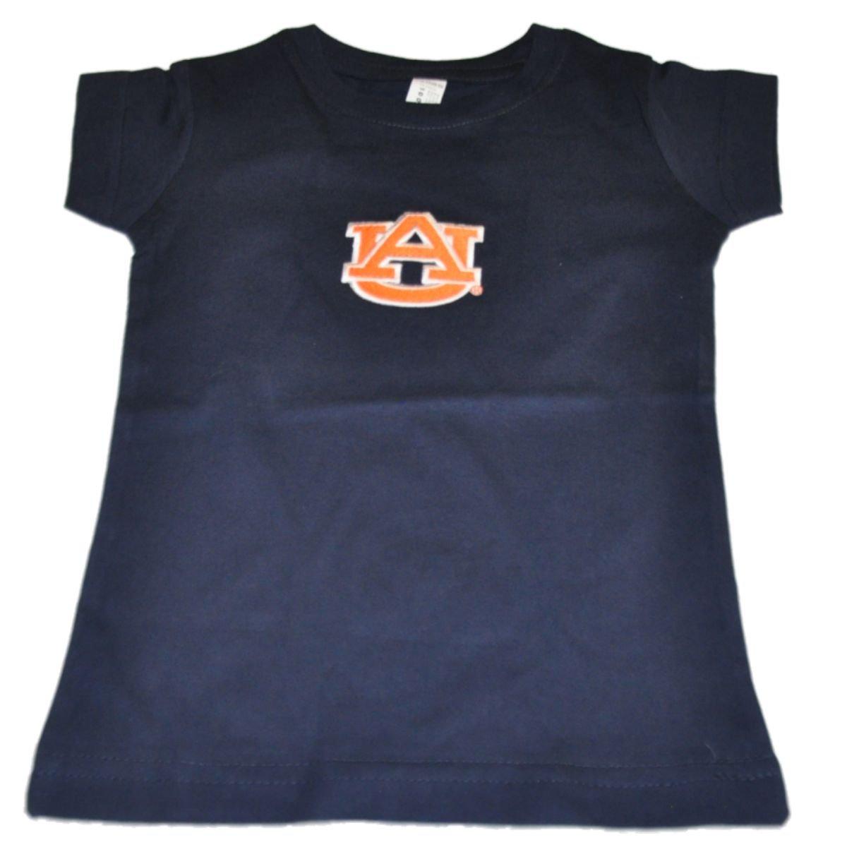 【メーカー直送】 オーバーンTigers Two Feet Two Ahead Toddler 4T Girls Navy Long長コットンTシャツ 4T B0115M9QC4 B0115M9QC4, 堀田商事質店:73623b08 --- a0267596.xsph.ru