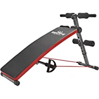 RELIFE REBUILD YOUR LIFE Sit Up Bench Adjustable Workout Foldable Bench Fitness Equipment for Home Gym Ab Exercises