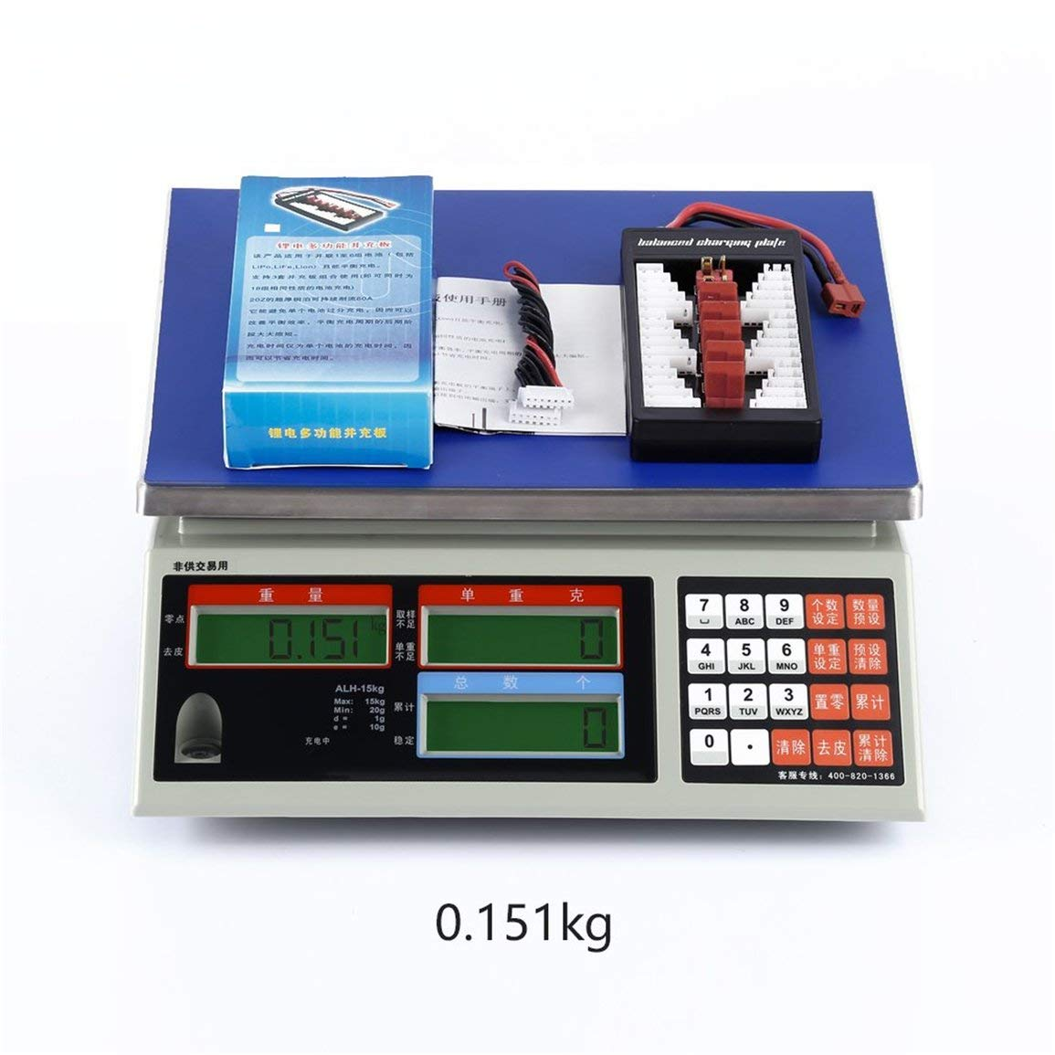 1Set Parallel Charging Board Balance Charge Plate Up to 2-6s Lipo Battery For iMAX B6 B6AC B8 Charg