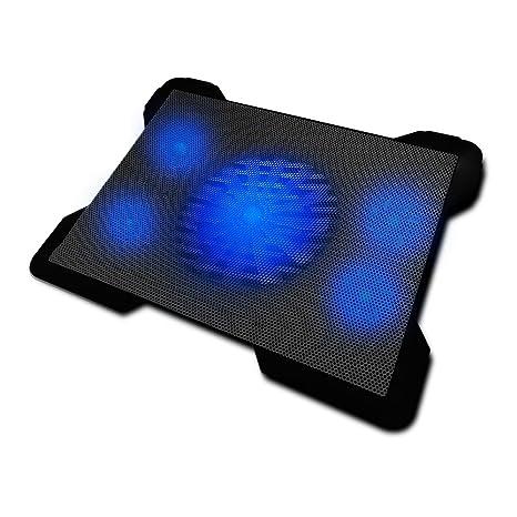 Woxter Cooling Pad 1560 - Base refrigeradora para ordenador portátil, color negro