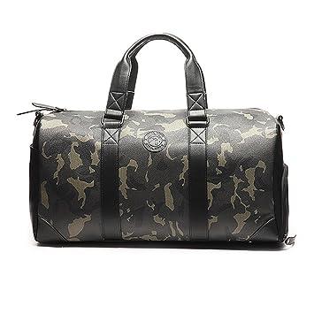 S-P Bolsa De Gimnasio Sports Holdall Weekend Travel Duffel Bag con Compartimento De Zapatos para Hombre