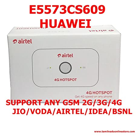 Huawei 9R-09NG-FWN9 Airtel 4G-Lte Wifi Data Card (White) Data Cards & Dongles at amazon