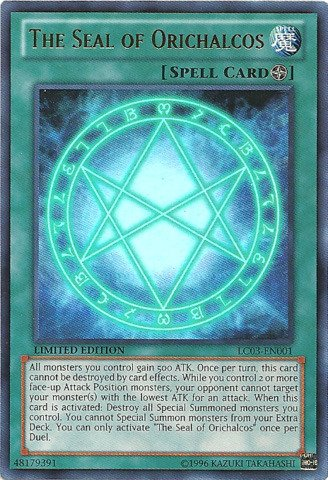yugioh the seal - 1