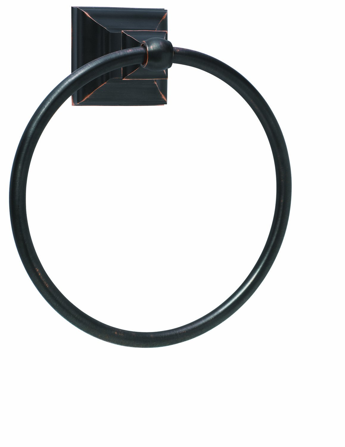 Amerock BH26511-ORB Markham Collection Towel Ring, Oil Rubbed Bronze