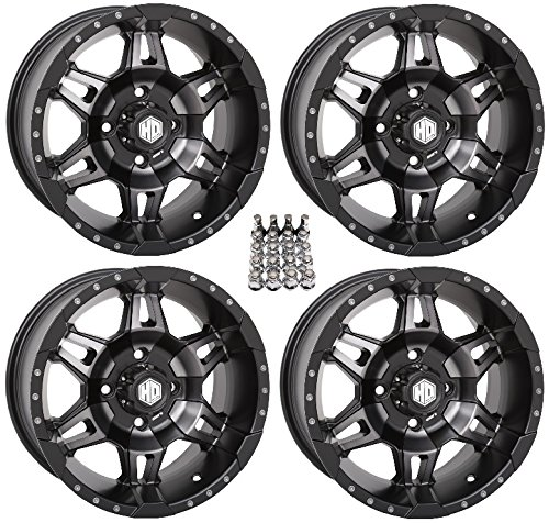 STI HD7 ATV Wheels/Rims Smoke 14