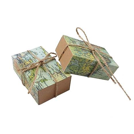 Amazon.com: Caja de regalo de caramelos con diseño de ...