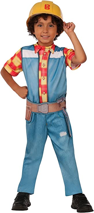Rubies - Disfraz Bob El Constructor para niños, infantil - M ...