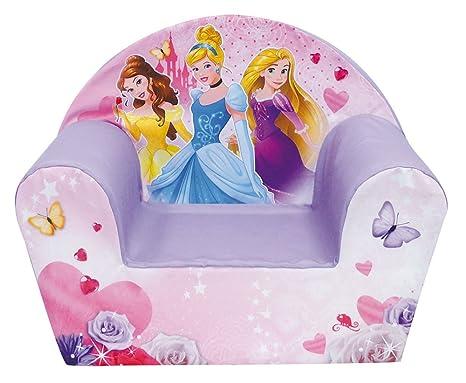 Cameretta Disney Principesse : Principesse disney poltroncina rivestita in tessuto amazon