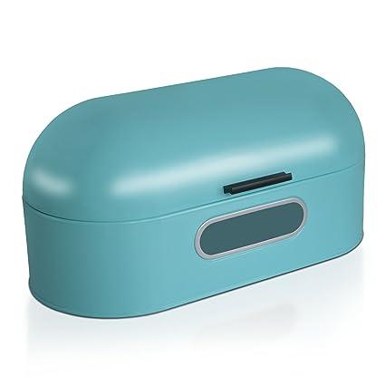 Recinto Panificadora Vintage casa pura® recinto conservación pan | recinto azul | acero inoxidable |