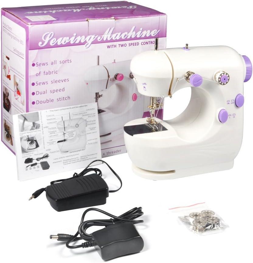 Hongzer Mini máquinas de Coser, máquina de Coser doméstica de ...