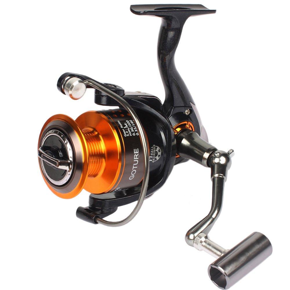 Pisfun new gt4000 metal spinning fishing reels saltwater for Carp fishing reels