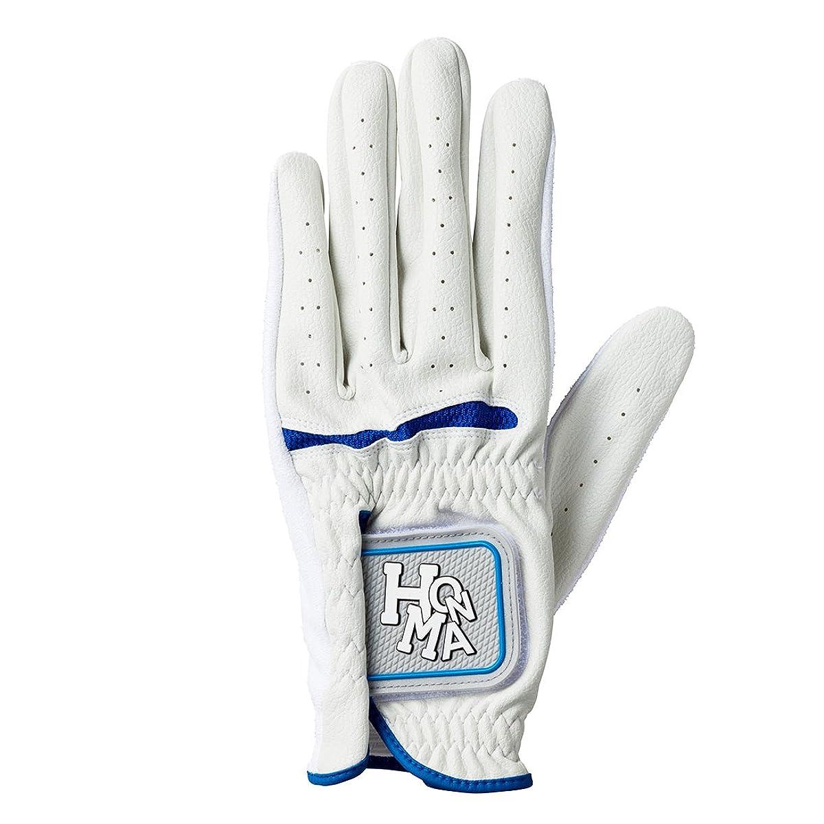 [해외] 혼마 골프 골프 글러브 HONMA GF-1704 맨즈 화이트/블루 23