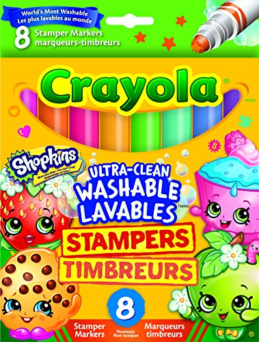 Crayola Shopkins Stamper Washable Markers product image