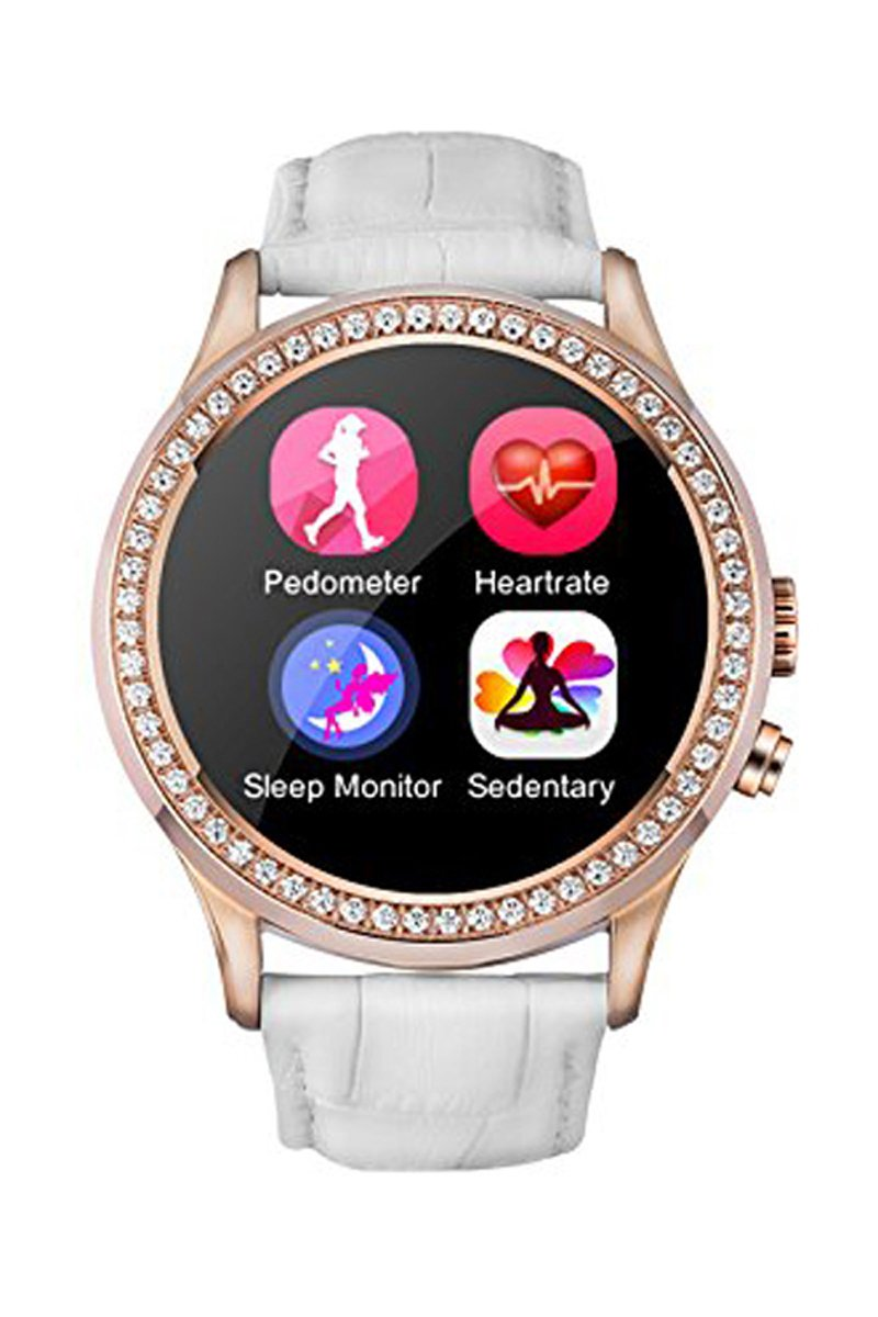 Amazon.com: NO.1 D2 Smartwatch - 1.22 Capacitive Touchscreen ...