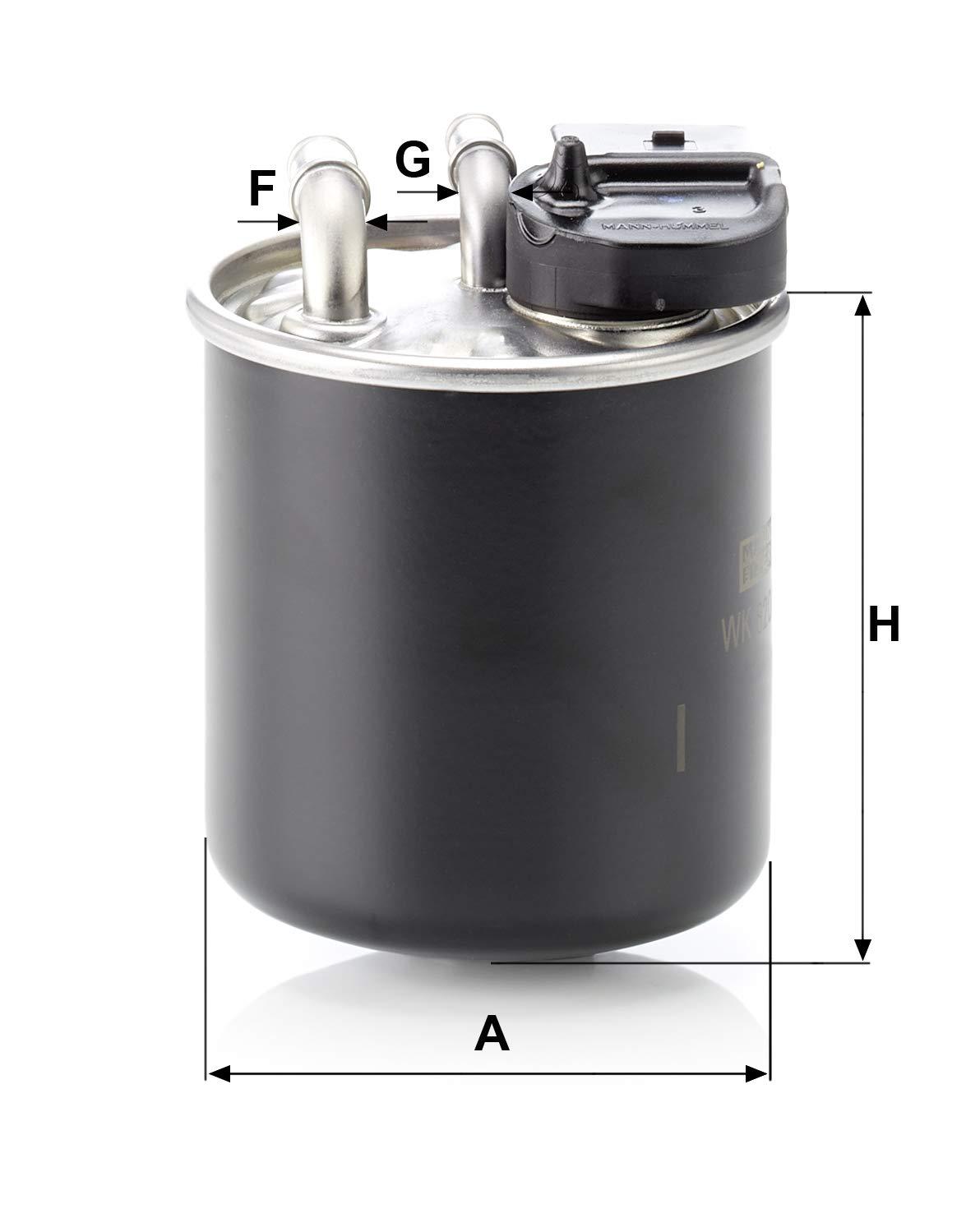 MANN WK 820//16 Filtre à carburant MERCEDES-BENZ