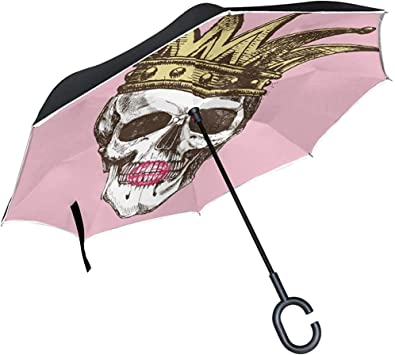 Acheter parapluie tete de mort online 24