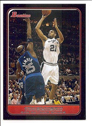 - Tim Duncan San Antonio Spurs 2006-07 Bowman Basketball Card #20