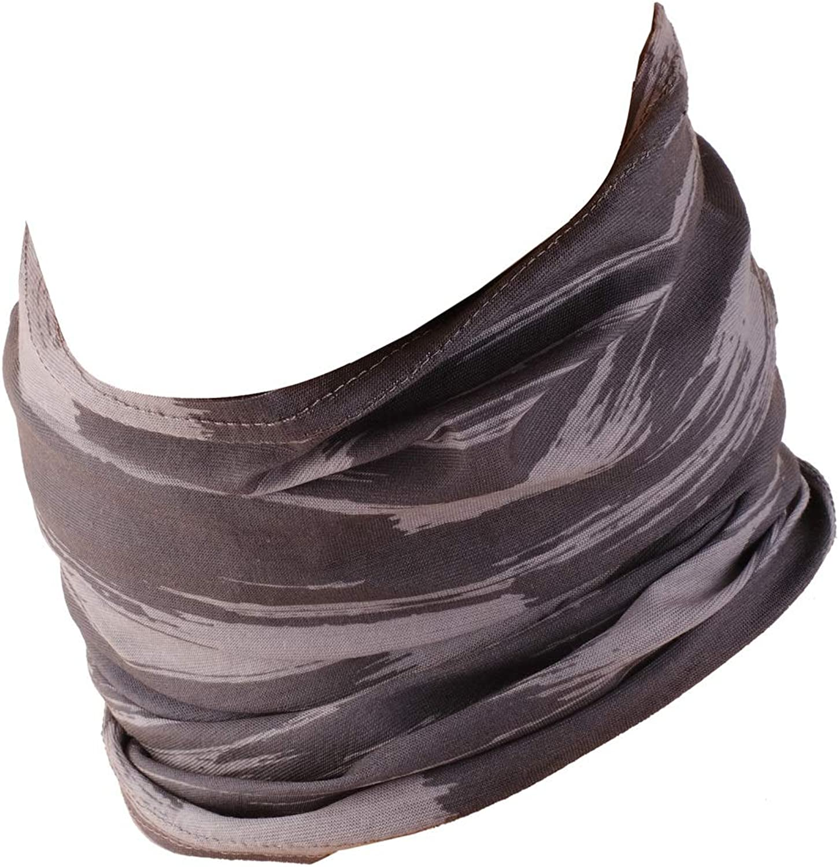 Schlauchschal Damen Halstuch Herren Bandana mit vern/ähten Saumkanten Hilltop Multifunktionstuch Schlauchtuch