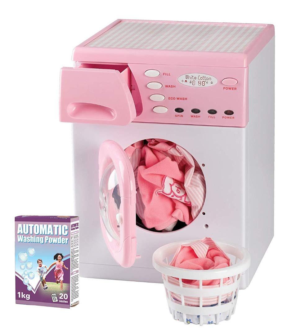 Casdon 621 Pink Toy Electronic Washer
