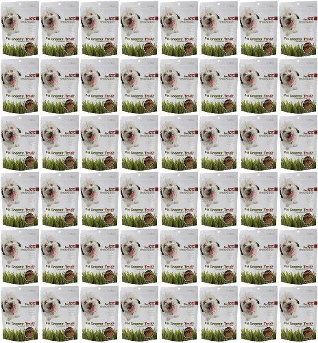 Bell Rock Jerky Dog Treats Savory Beef 12Lbs (48 x 4oz)
